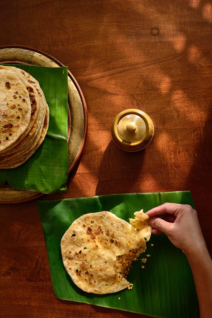 Puran Poli - A traditional Indian Dessert