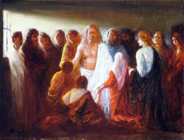 Image result for jesus appeared to the twelve