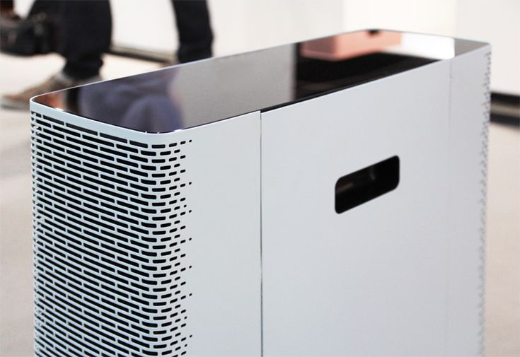 claesson koivisto rune: blueair sense air purifier || We have the old blueair models...might need to change them out! These look niiiiice!