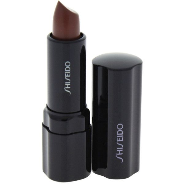 Shiseido 0.14Oz #Br757 Black Walnut Perfect Rouge Lipstick ($22) ❤ liked on Polyvore featuring beauty products, makeup, lip makeup, lipstick, nocolor, shiseido lipstick and shiseido