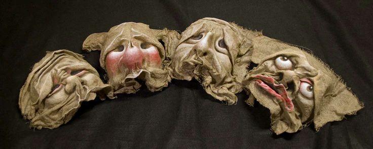 maschere di tela