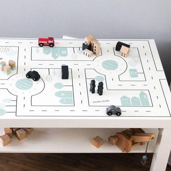 Autocollants Enfants Table Table De Jeu Ikea Peinture Une Alternative Au Jeu Tapis Tapis Play Mat Route Voiture Meubles Non Inclus Tapis Enfant Ikea Table De Jeux Ikea