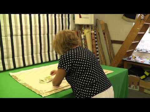 how to make basic lined curtains youtube a fairly good instructional video for professional. Black Bedroom Furniture Sets. Home Design Ideas