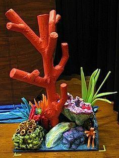 Alliance Theatre Little Mermaid Jr. Tritan's throne and coral reef ...