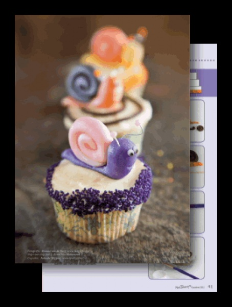 snale cupcake... sweet