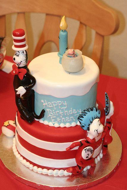 Dr seuss cake