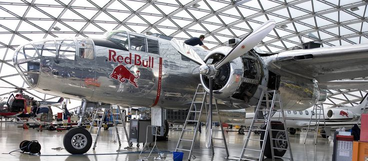 Red Bull Hangar 7 in Salzburg Austria