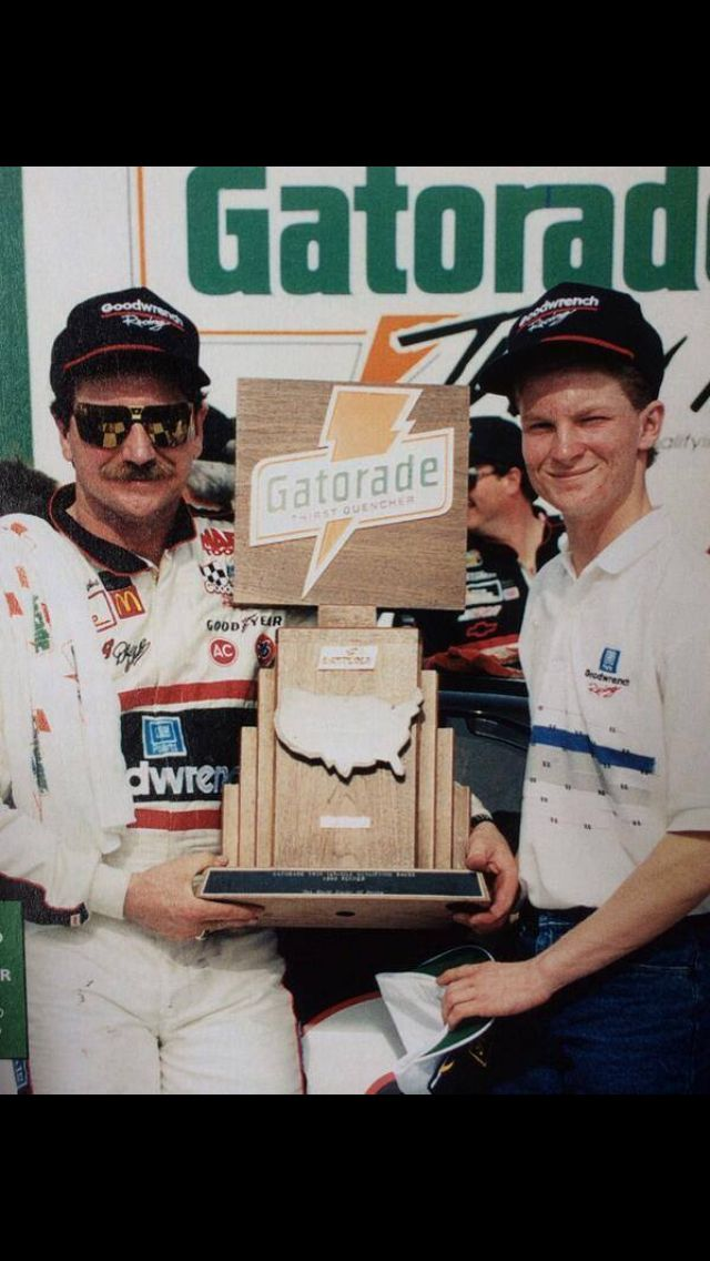 Dale Sr and Dale Jr