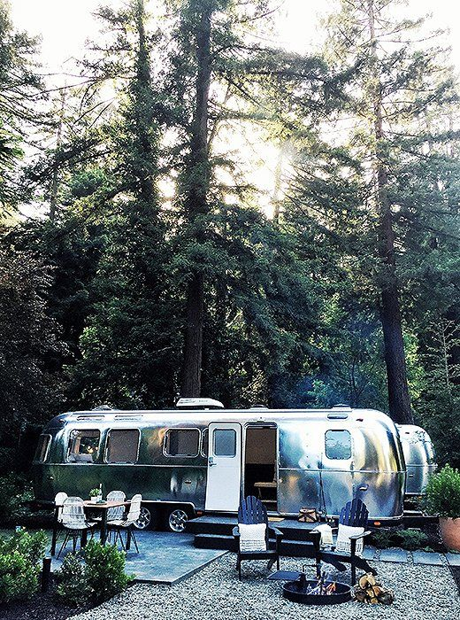 Airstreams designed by Lauren Geremia are the new must-experience places to stay.