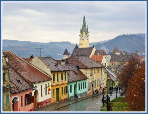 #10 - The colors of my childhood - Medias, Romania #Romania