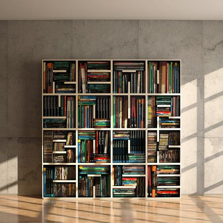 Like this big square bookshelf except without all the random pieces. Read  Your Bookcase Bookshelf - by Saporiti - 26 Best Images About Stack On Pinterest Shelves, Student