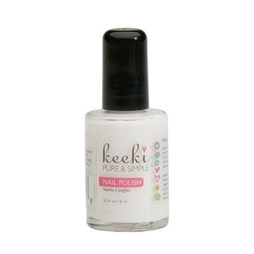 Marshmallow Nail Polish .5 fl. Oz. - http://essential-organic.com/marshmallow-nail-polish-5-fl-oz/
