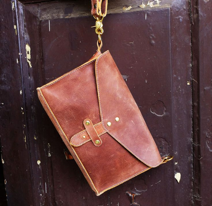Indezi clutch. Crafted by ZEL Leather, Ethiopia