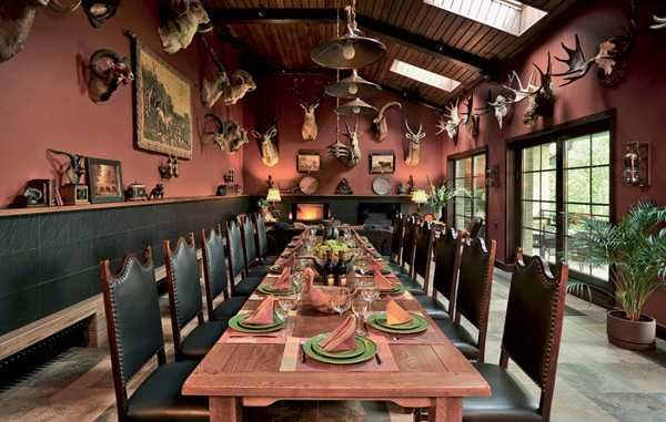 De 20 b sta id erna om hunting lodge interiors p for Hunting lodge designs