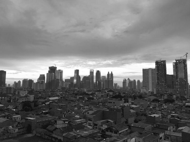 View From Kuningan City Mall Jakarta
