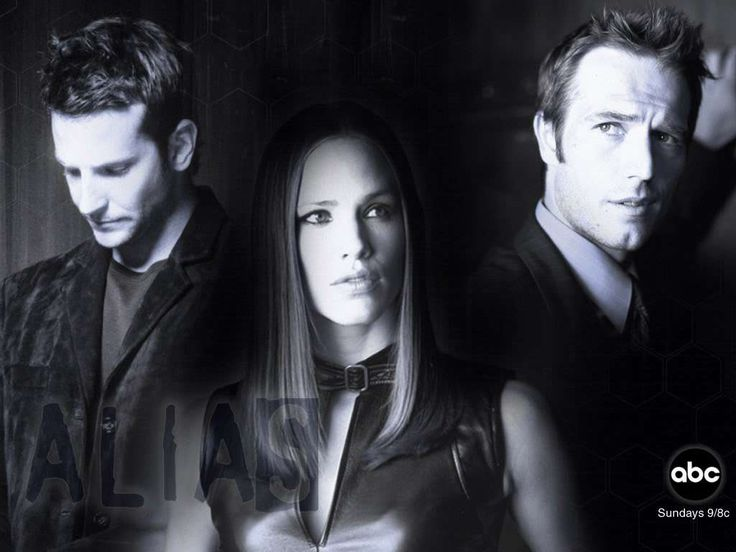 Alias - Bradley Cooper, Jennifer Garner and Michael Vartan