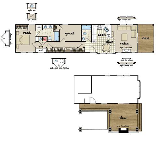 mobile home floor plans 3d google search small house plans pinterest home mobile homes. Black Bedroom Furniture Sets. Home Design Ideas