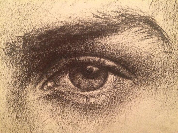 #eye #pencil #drawing #sketch
