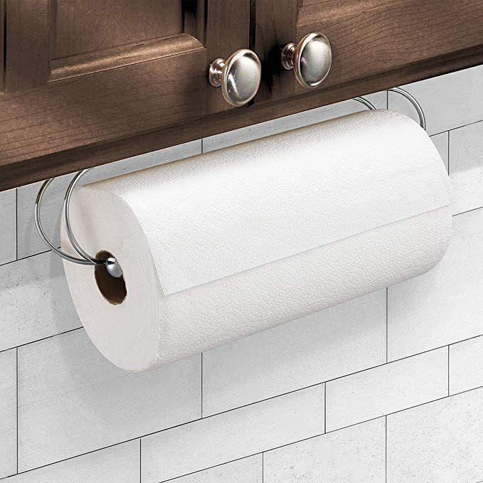 Caxxa Under Cabinet Paper Towel Holder Dispenser For Kitchen