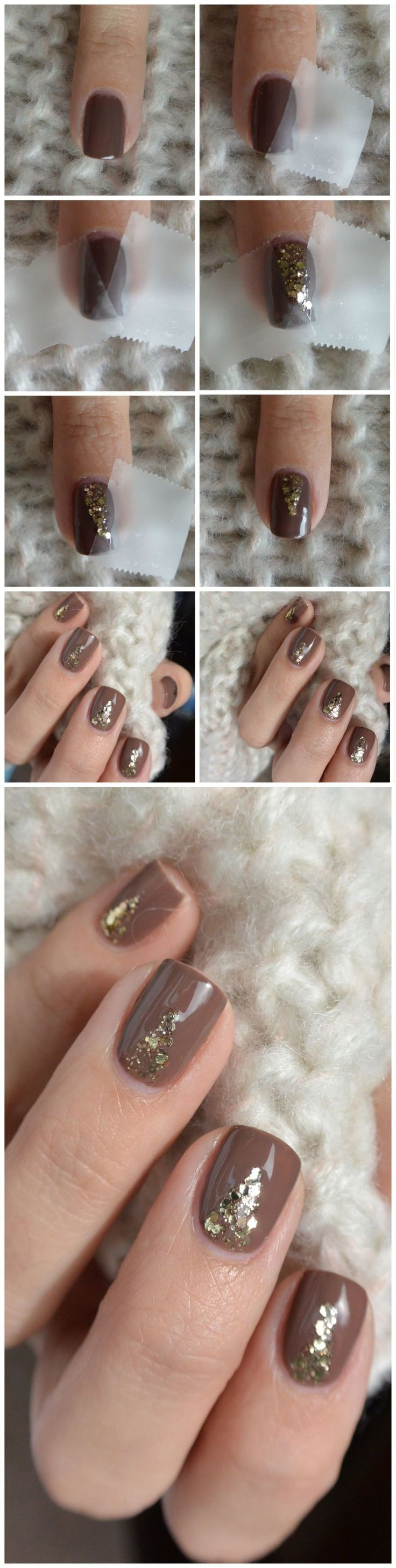 The perfect mani for a holiday party!