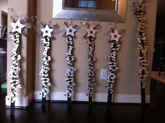 "Can make these for so cheap...cute cuz they are kind like a their own personalized ""trophy"" spirit stick"