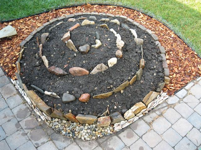 Mejores 8 imágenes de JARDINES EN ESPIRAL en Pinterest | Jardín ...