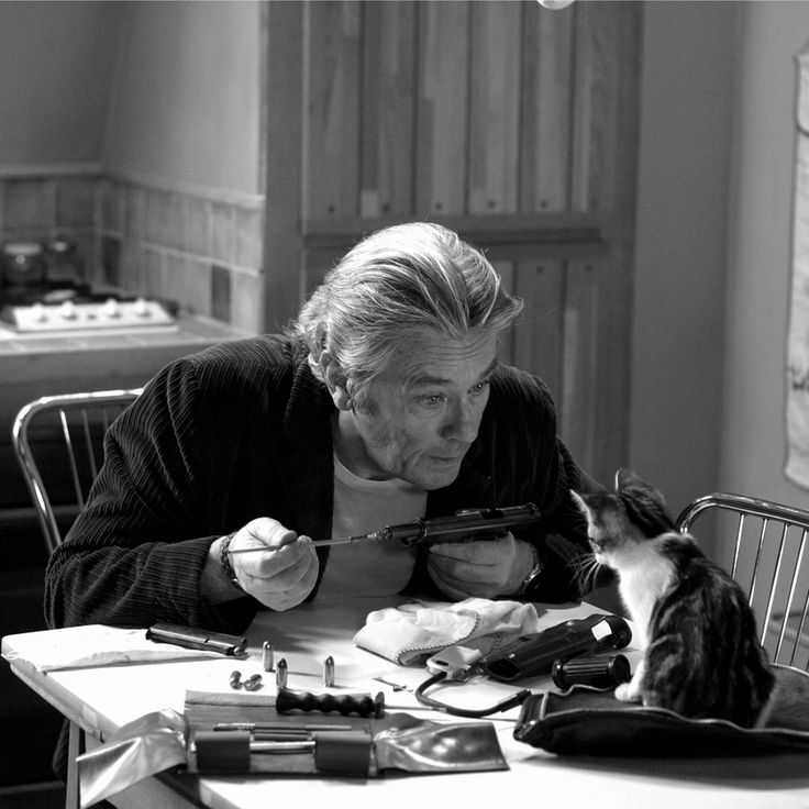 Alain Delon (and his friend)
