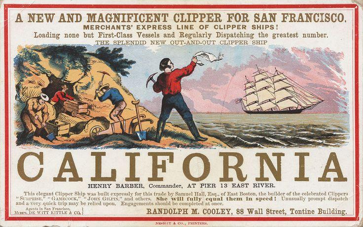 """La guerra del huevo, un conflicto que se originó con la """"fiebre del oro"""" en California"""