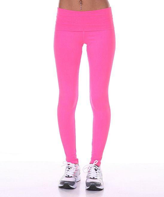 Pink Workout Capris