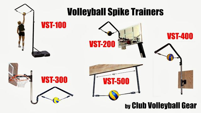 Volleyball Spike Trainer - 5 Models to chose from.  Practice Hitting Steps, Jumping Technique and Volleyball Spike.