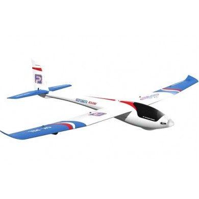 Samolot Gama 2100 ARF Sport to ciekawie wyglądający elektroszybowiec, model ten posiada oczywiście jako napęd silnik elektryczny bezszczotkowy. Model jest w prostej linii rozwinięciem sprawdzonej konstrukcji Alphy 1500. Opis, dane techniczne, komentarze oraz film Video znajdziesz na naszej stronie, nie ma jeszcze komentarzy, to czemu nie zostawisz swojego:)