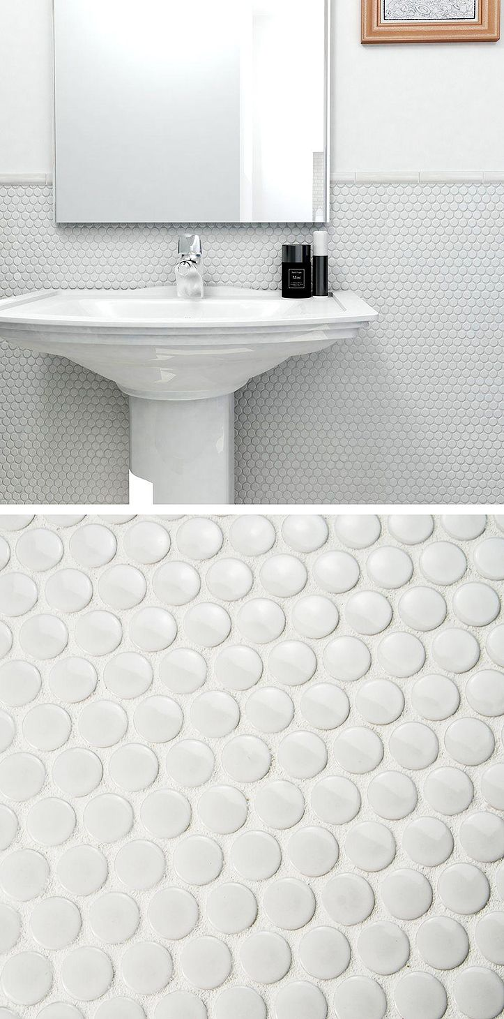 210 best Inspiring Tile images on Pinterest | Mosaic, Bathroom ideas ...