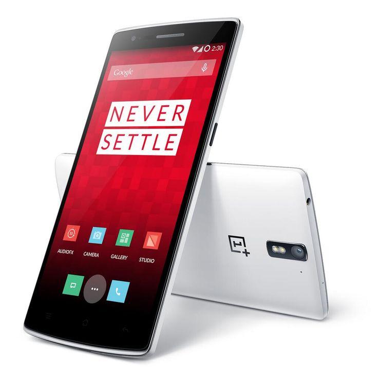 De nieuwe smartphone sensatie: OnePlus One. De betaalbare smartphone met ongekende specificaties!