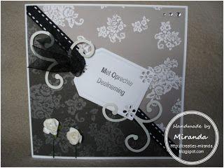 Miranda's Creaties: Met Oprechte Deelneming (1)