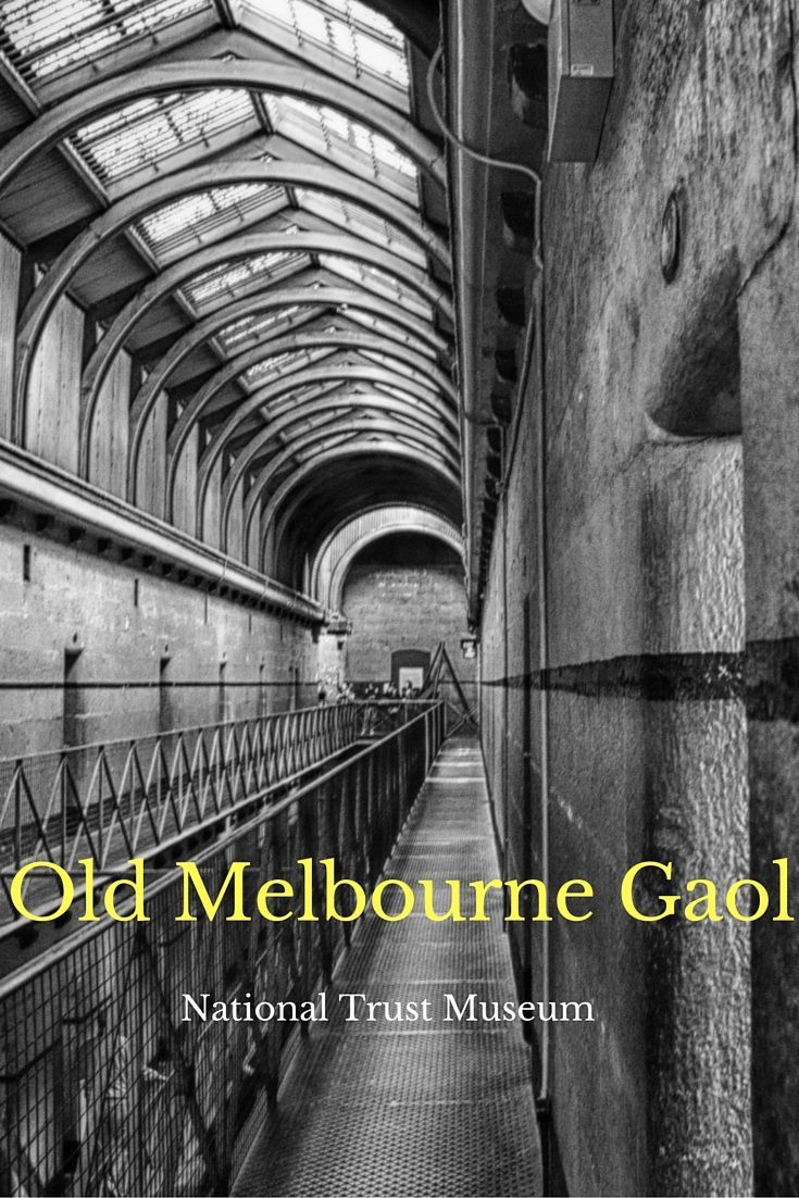 The Old Melbourne Gaol opened its doors in 1845 to the criminal element of Melbourne. During its years of operation, 135 people were hung to death at the gaol. Today he Gaol is a National Trust site and great to visit for the whole family