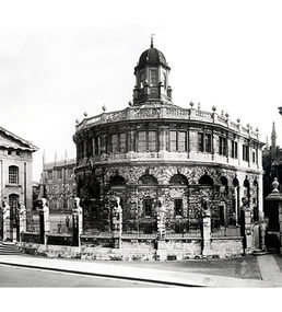 The Sheldonian Theatre, Oxford, Designed by Architect Sir Christopher Wren