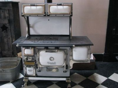 Monarch Malleable Wood Cook Stove | Antique Monarch Malleable Wood Coal  Cook Stove