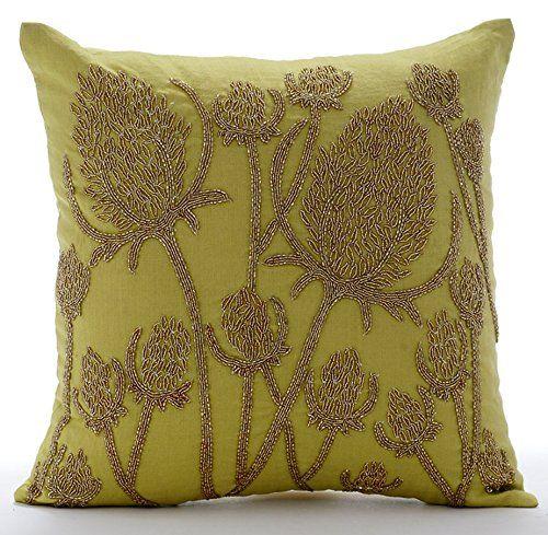 Luxury Green Accent Pillows, Paddy Millet Pillows Cover, ... https://www.amazon.com/dp/B01645ZP9K/ref=cm_sw_r_pi_dp_x_gglcyb6R0AWG0