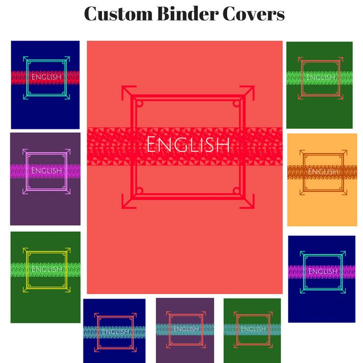 Printable Custom Modern Binder Cover Sets | Modern Binder Insert | Modern Binder Insert | Custom Printable Binder Cover | Teacher Journal by elizalilydesign on Etsy
