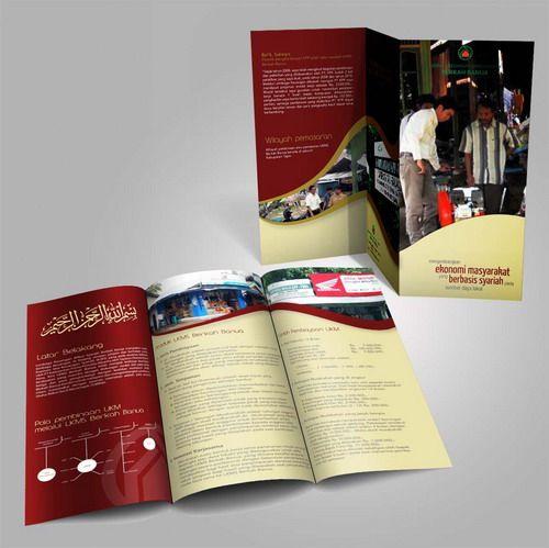 Desain brosur Barkah Banua CSR PT. Kalimantan Prima Persada. www.simplestudioonline.com