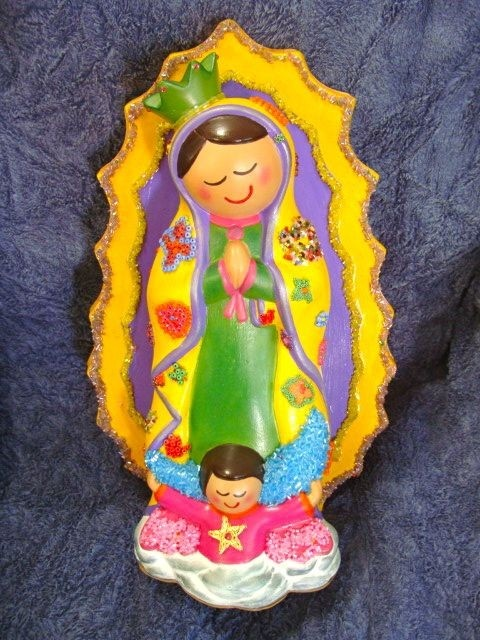 Virgen de Guadalupe Infantil | Virgen de guadalupe | Pinterest ...