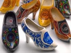 Victor & Rolf Clog pumps - Insipired by traditional Dutch wooden shoes. I actually really like these...