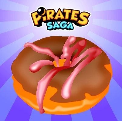 Wielki pączek dla Was // Zdjęcie z profilu Pirates Saga na FB http://www.facebook.com/PiratesSaga