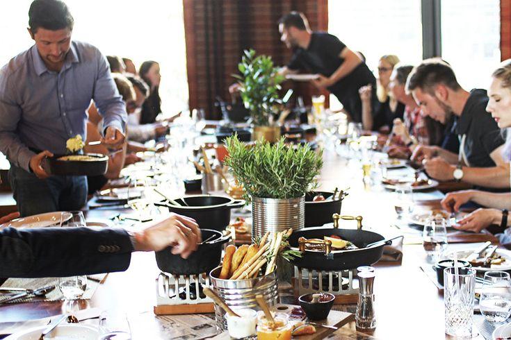 Happen von hier: Restaurant OSTeRIA in Rostock