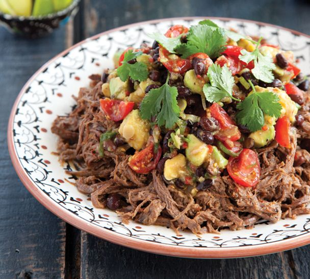 Smoky Mexican Slow-Cooked Beef