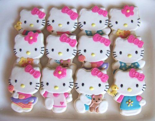 hello kitty cookies // galletas de hello kitty