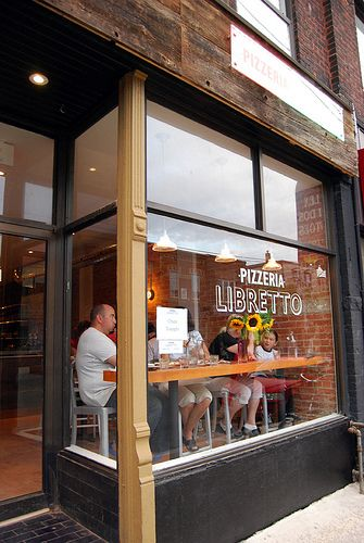 Pizzeria Libretto on Ossington. Love it.  Great place to meet friends.
