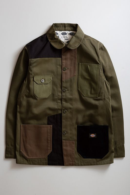 DICKIES PATCHWORK COVERALL
