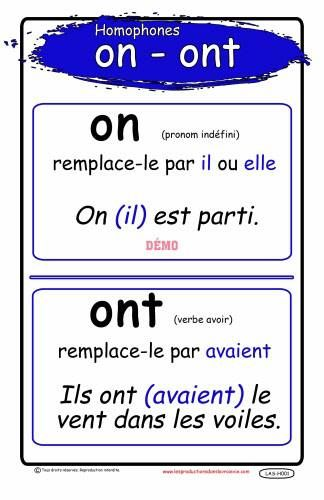 on / ont