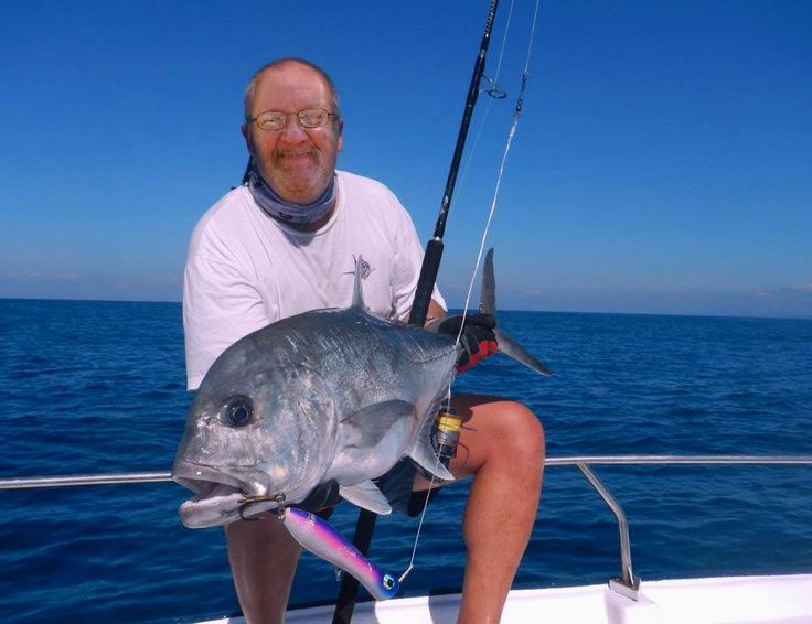 Here I am with some more deep sea fishing off the cost of madagascar, summer 2016...